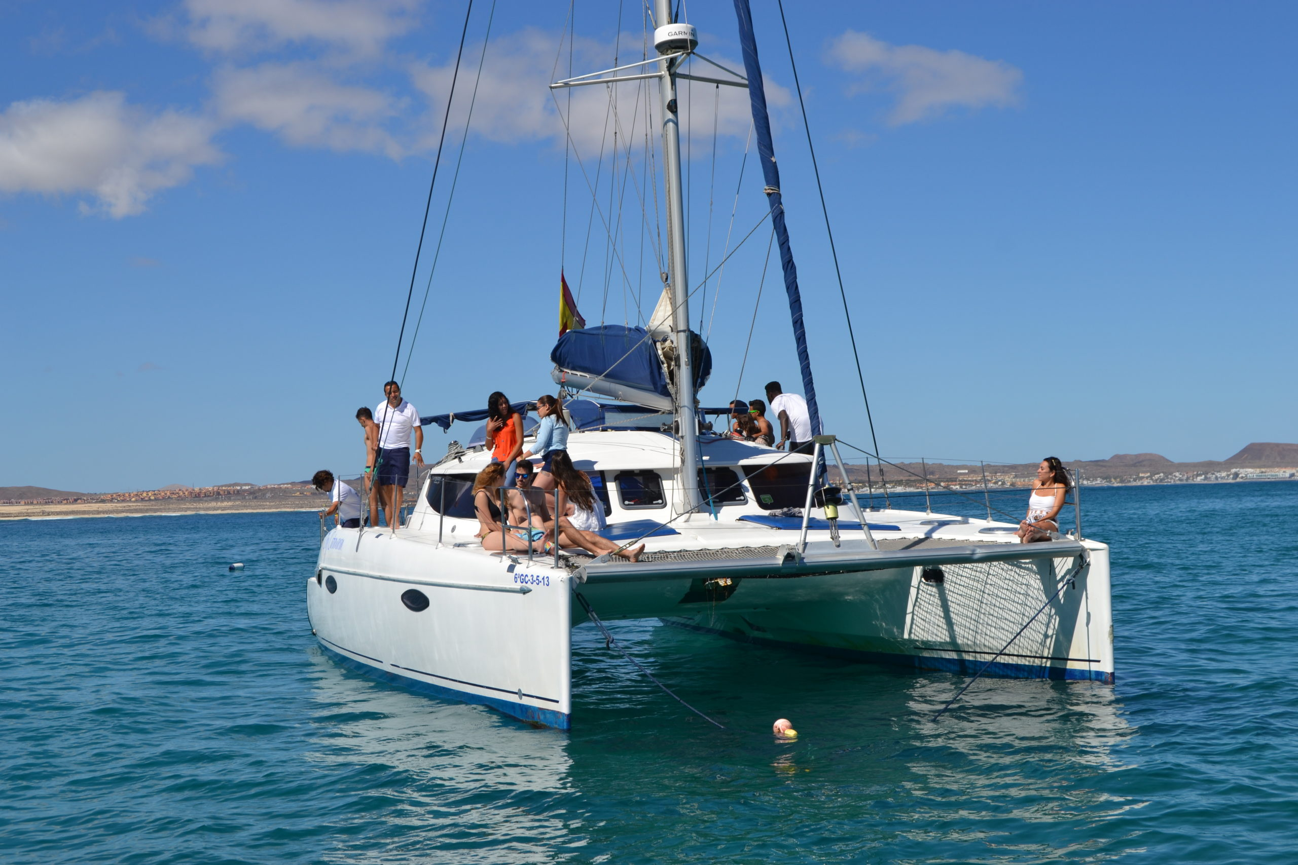 Sailing trip to Lobos Island
